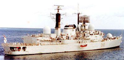 Liste der 6 britischen Schiffe, die während des Falklandkrieges versenkt wurden