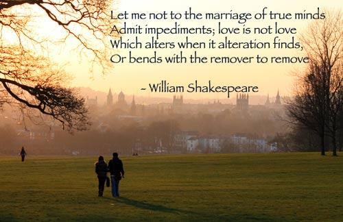 William Shakespeare Beliebte Gedichte