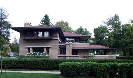 20 schönsten Frank Lloyd Wright Houses