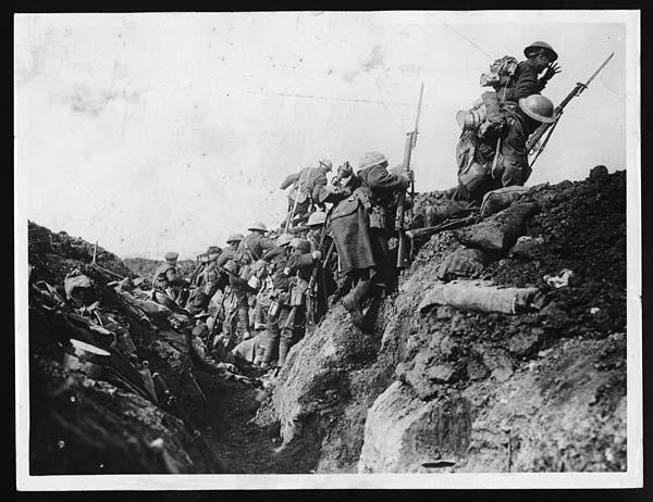 Würden Sie im Ersten Weltkrieg kämpfen?