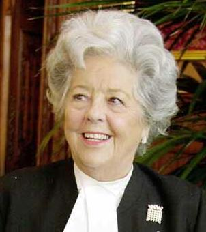 Betty Boothroyd Biografie