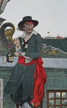 Liste der 10 berühmtesten Piraten der Weltgeschichte