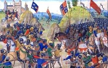 Liste der 5 wichtigsten Schlachten des Hundertjährigen Krieges