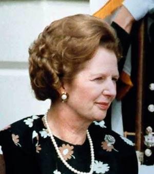 Biografie Margaret Thatcher