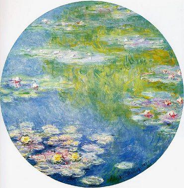 Liste der 10 Seerosen von Claude Monet