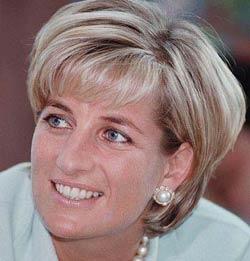 Zeitplan für Diana Princess of Wales