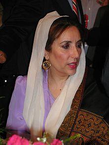 Benazir Bhutto Biografie