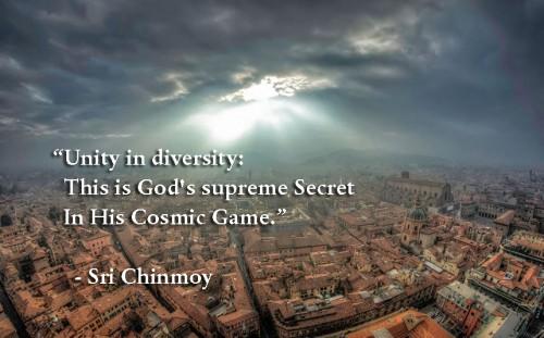 Einheit in Zitate der Vielfalt
