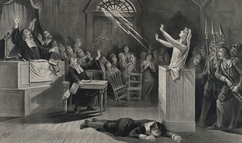 Liste der 5 möglichen Ursachen der Salem-Hexenprozesse