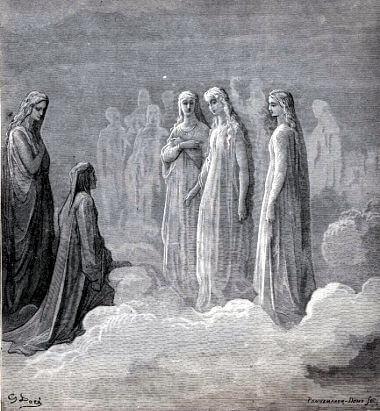 9 Himmelskugeln (Dantes Paradiso)